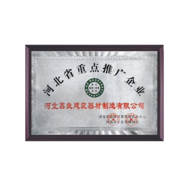 河北省重点推广企业